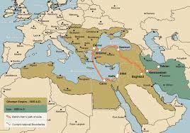 Deux vues de la Sublime Porte .Carte: l'expansion ottomane  en bassin méditerranéen                                                                       éditerranéen                                assin mediterranéen                                       méditerranéennes                          e Mediterranée           r le pourtour méditerranéen