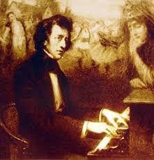 JJeanPaul II Soirée polonaise l'hôtel Lambert  Frédéric Chopin au piano , les armoiries de la Pologne