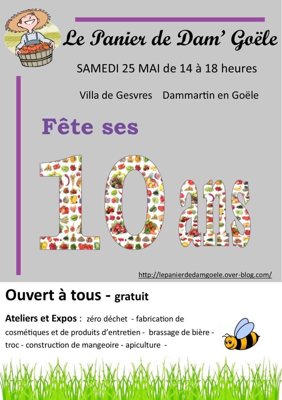 """""""Le panier"""" fête ses 10 ans !"""