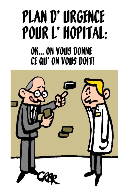 Plan d 'urgence pour l' hôpital
