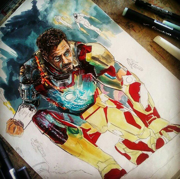 Iron man , Robert Downey jr