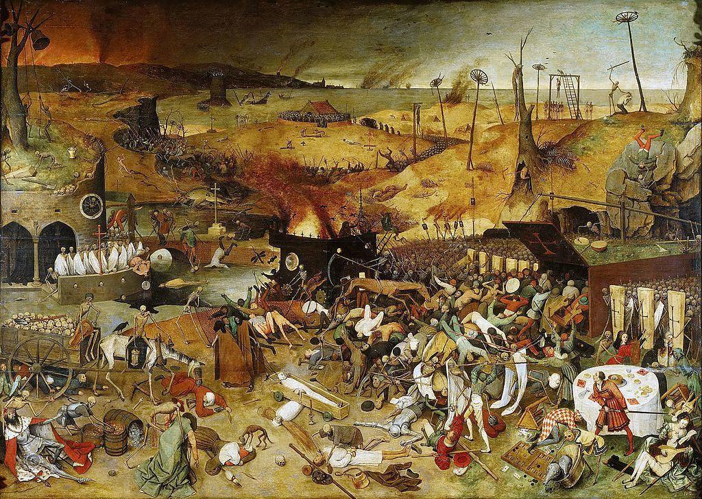 Pieter Brueghel l'Ancien - Le Triomphe de la Mort - 1562 - Musée du Prado - Madrid