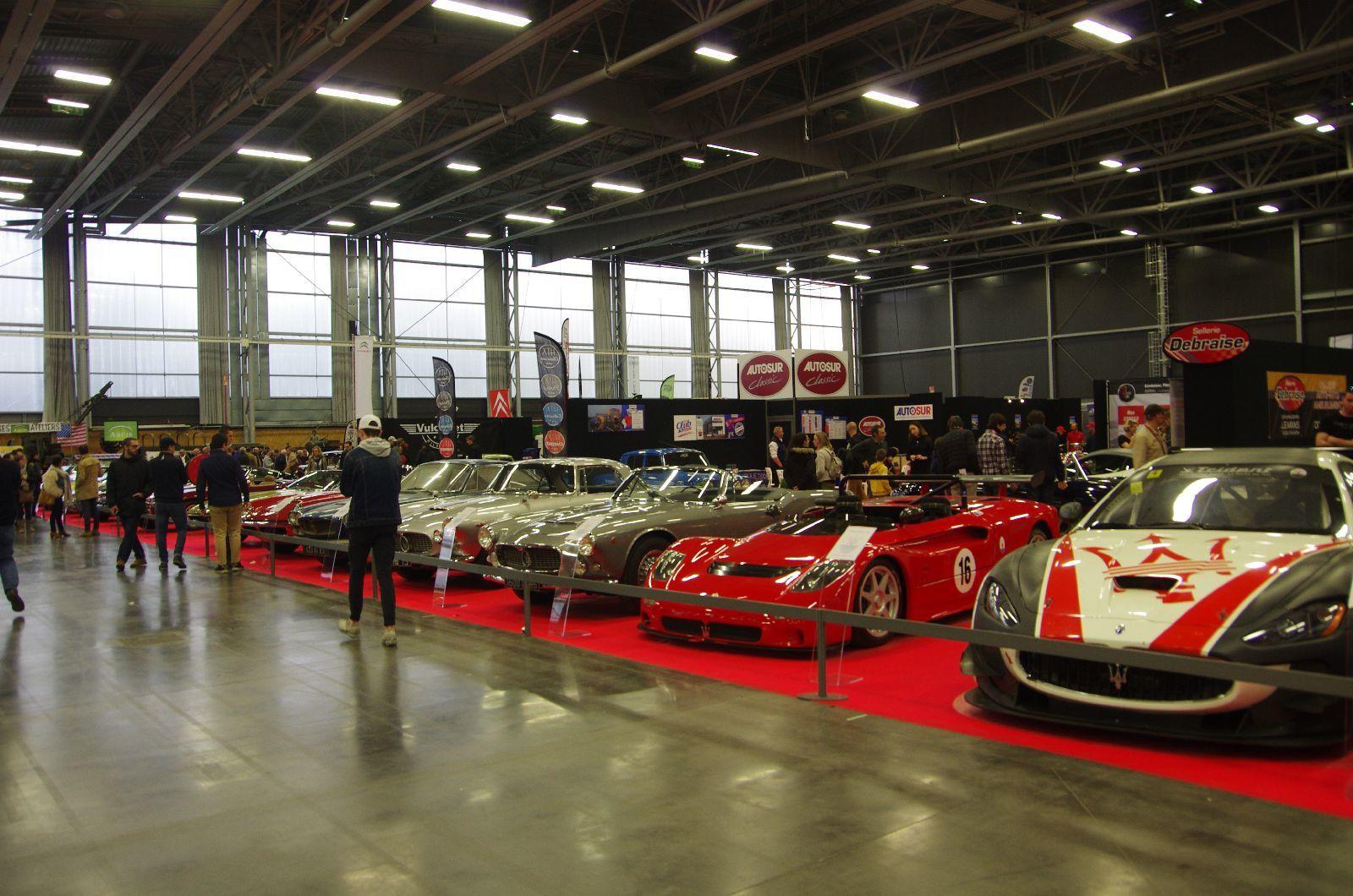 20 Maserati , toutes magnifiques !