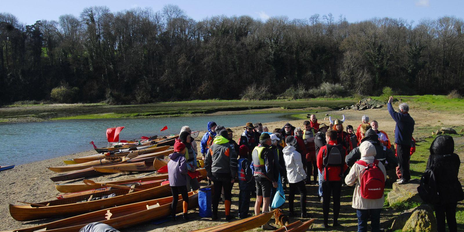 les rats toqués sur la Rance en kayak bois : les 22 et 23 mars