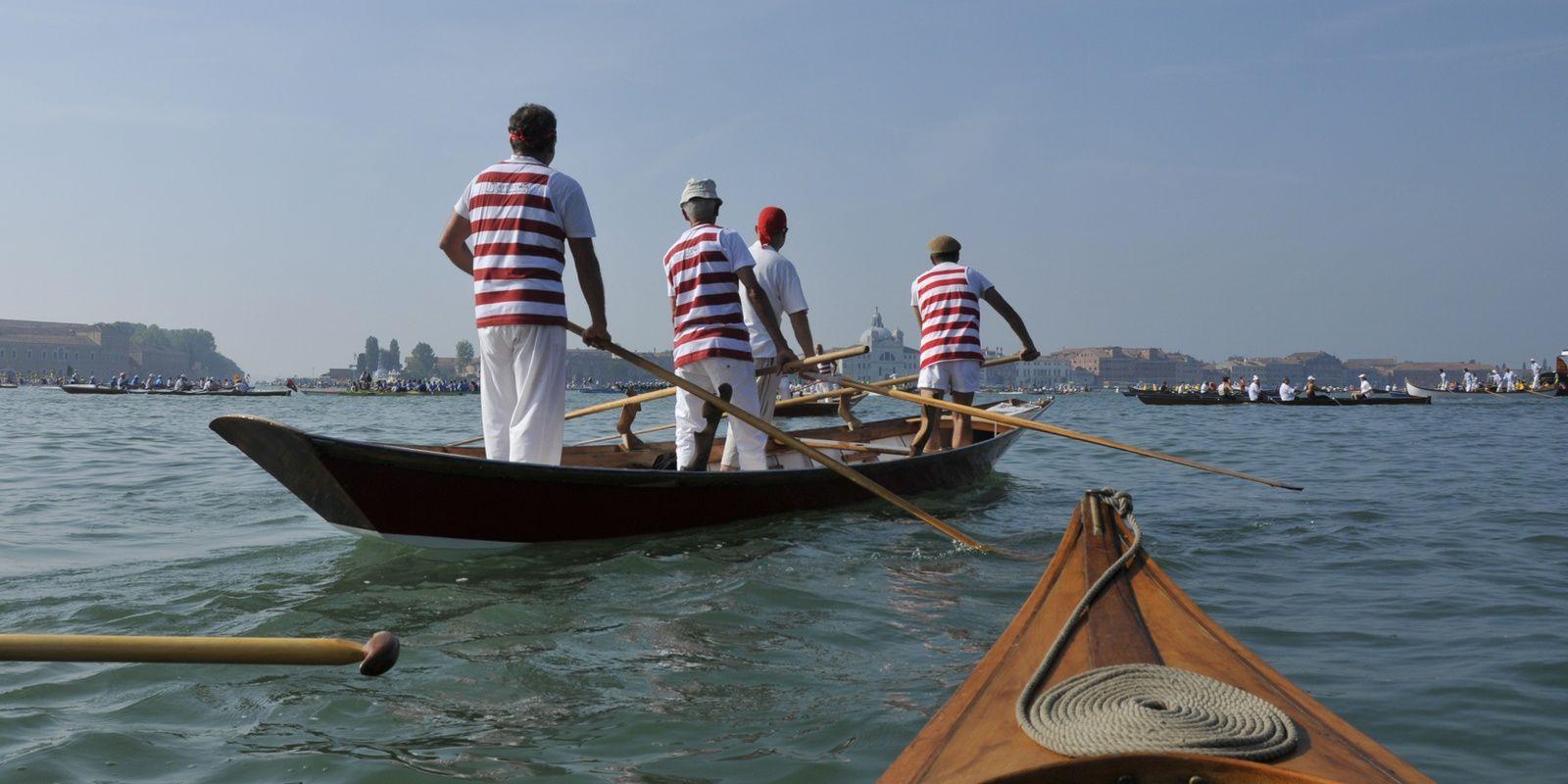 Vogalonga 40a, Venizia 8 giugno, en canoë et kayak bois