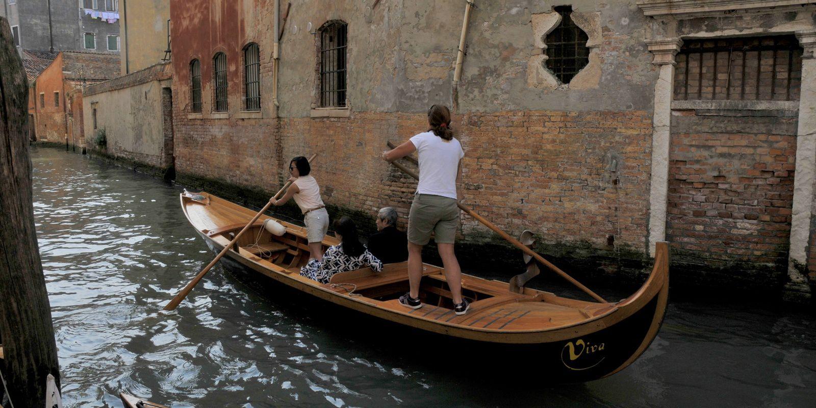 Venise, en canoë et kayak bois, du 1 au 7 juin