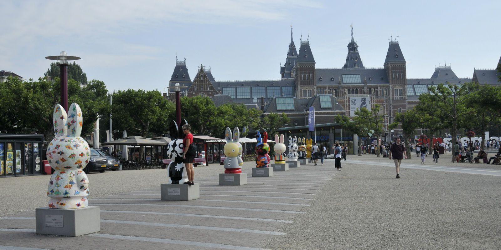 Amsterdam en canoë et kayak bois, 19, 20, 21 aout