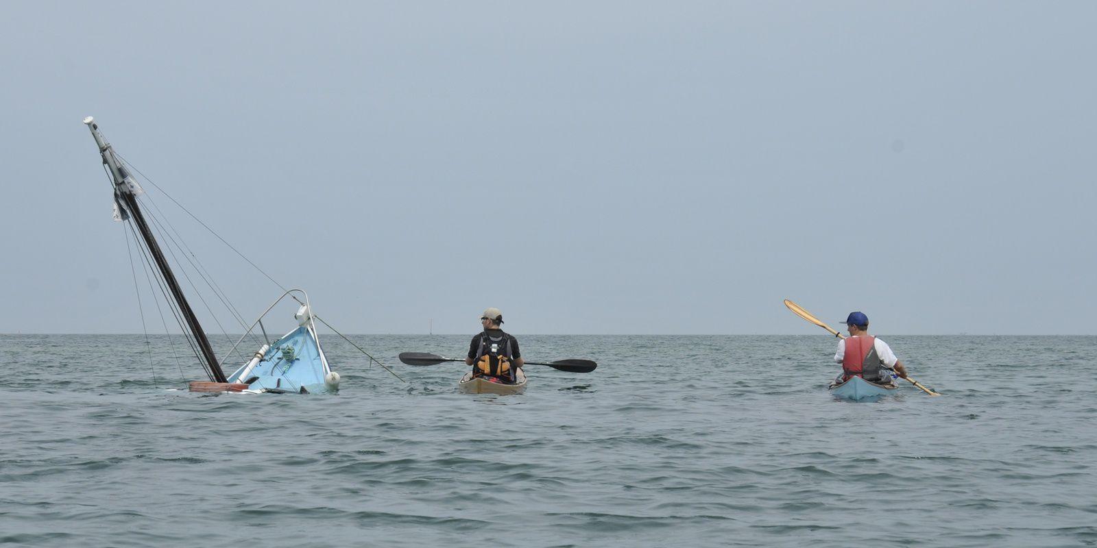 Baptême du kayak Néo à Saint Mâlo, le 10 juin