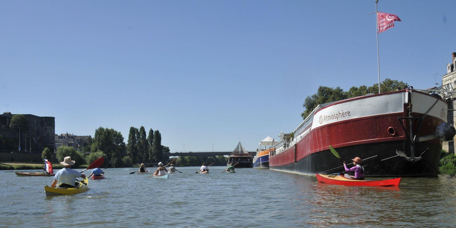 4ème kayak Léo Trophy, les 3 et 4 septembre, la Maine et le Louet
