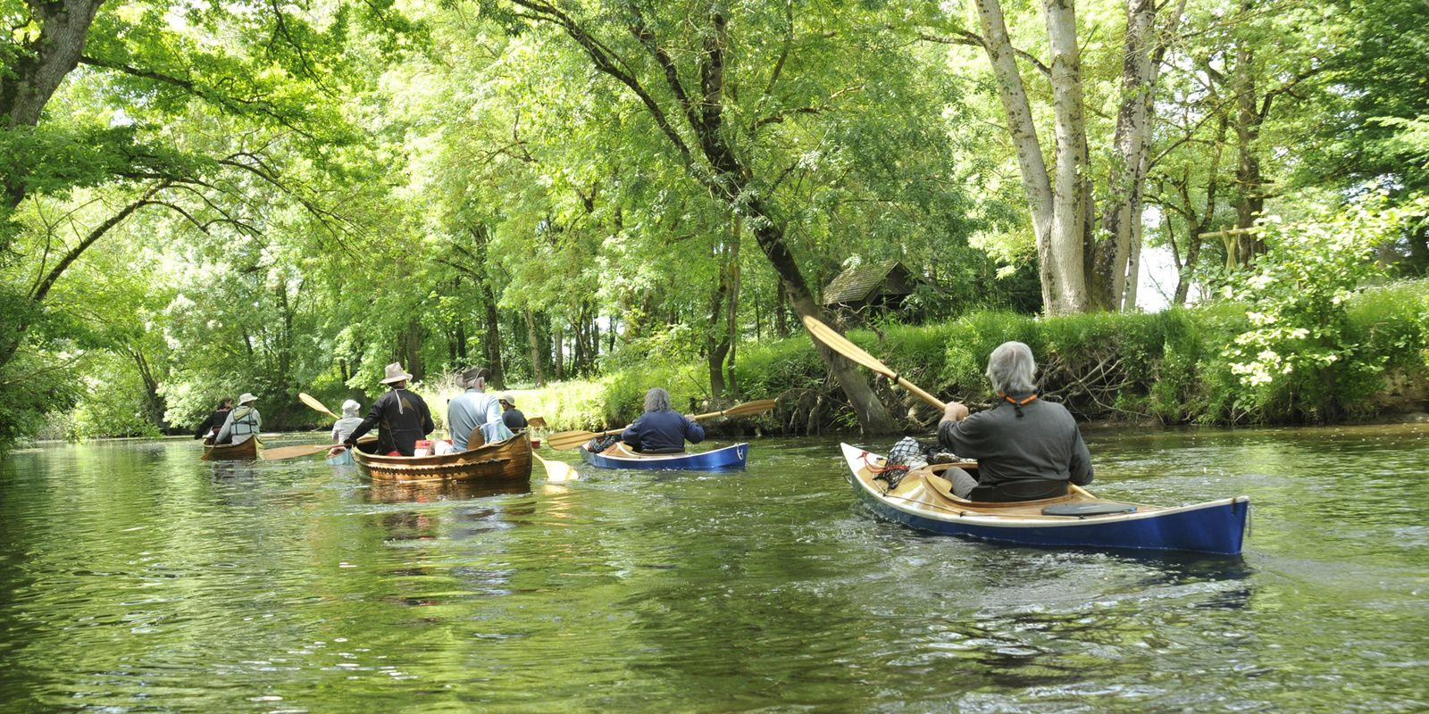 le Don, en kayak et canoë bois, de Treffieux à Marsac, les 13 et 14 mai