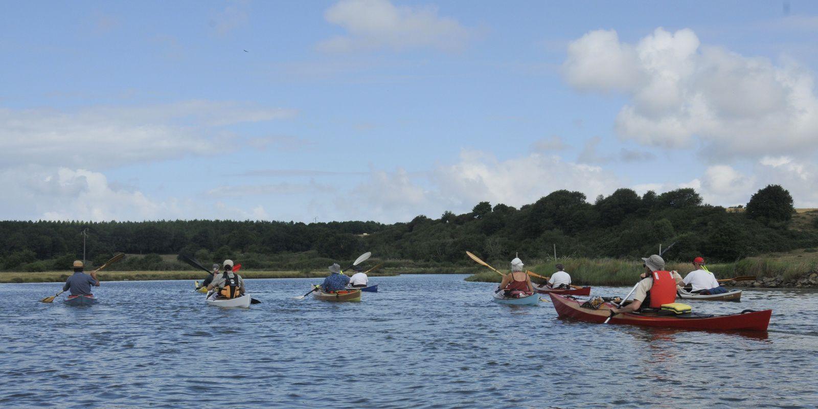 5ème Kayak Léo Trophy, les 24 et 25 juin sur l'Auxance et le Jaunay en Vendée