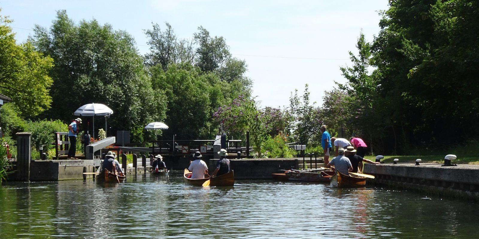 la Tamise du 7 au 13 juillet, de Lechelade à Henley