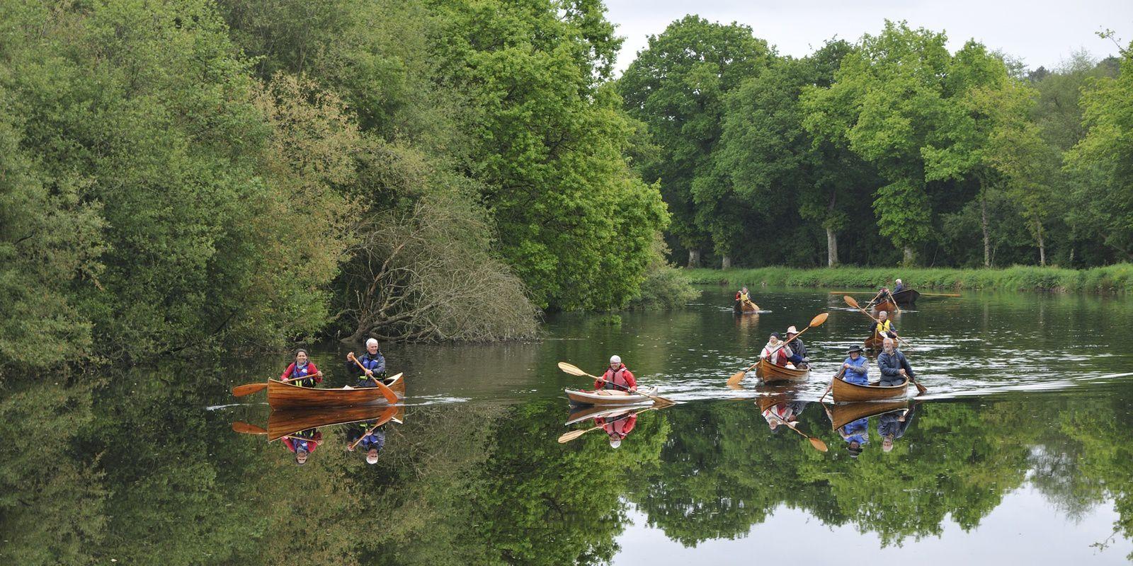 le blavet en canoë et kayak bois du 11 au 14 mai