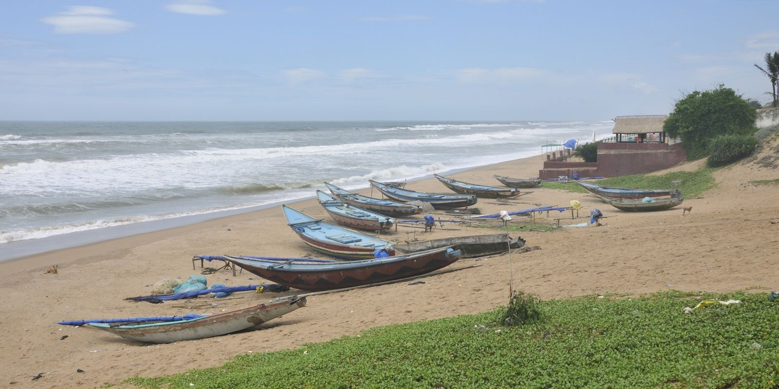 Gopalpur sea beach - India - juil 18