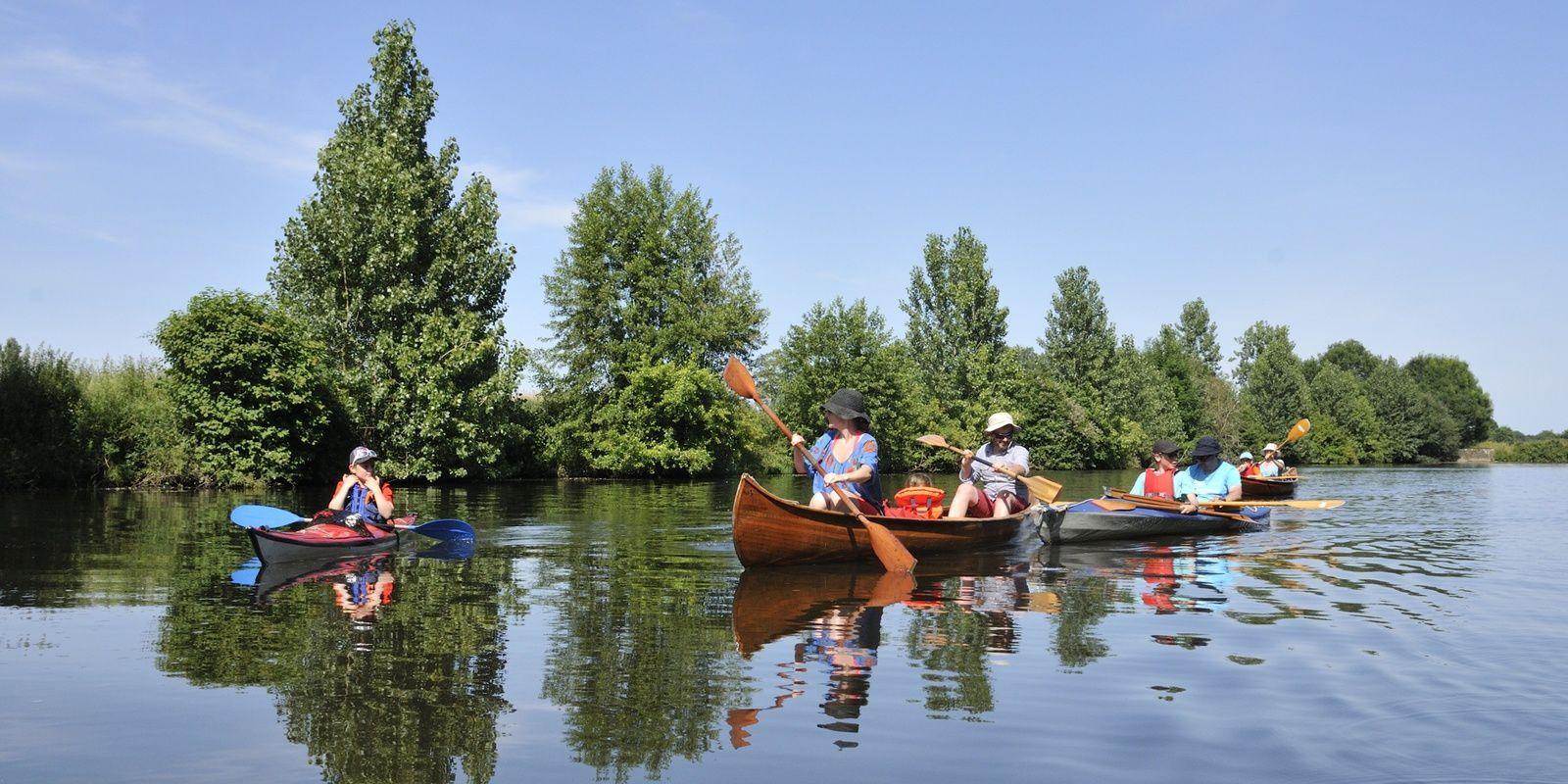 l'Oust en kayak et canoë le 7 juillet