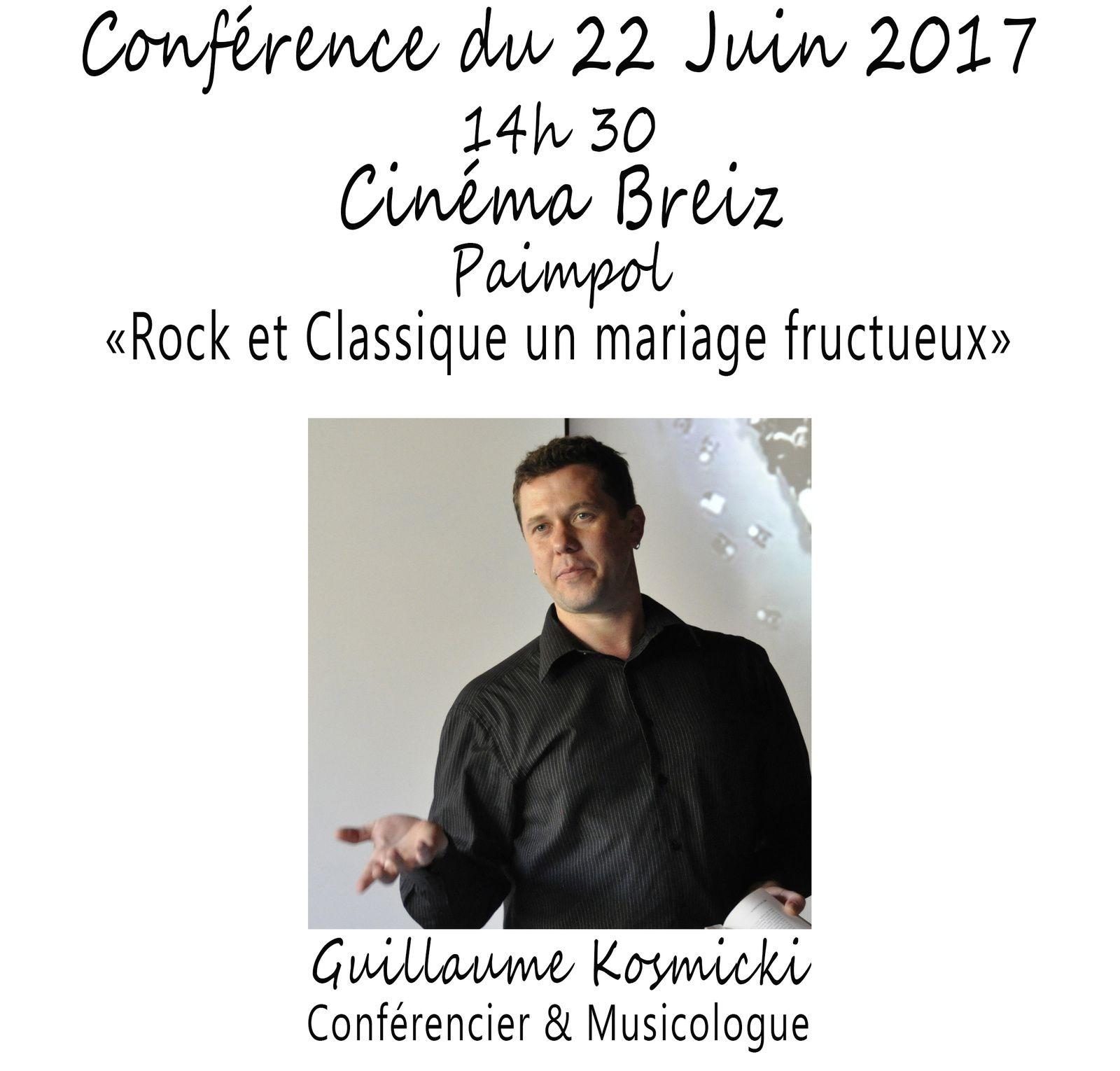 """""""Rock et Classique un mariage fructueux"""""""
