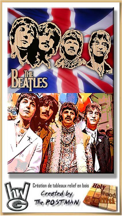 The fab 4 - The Beatles