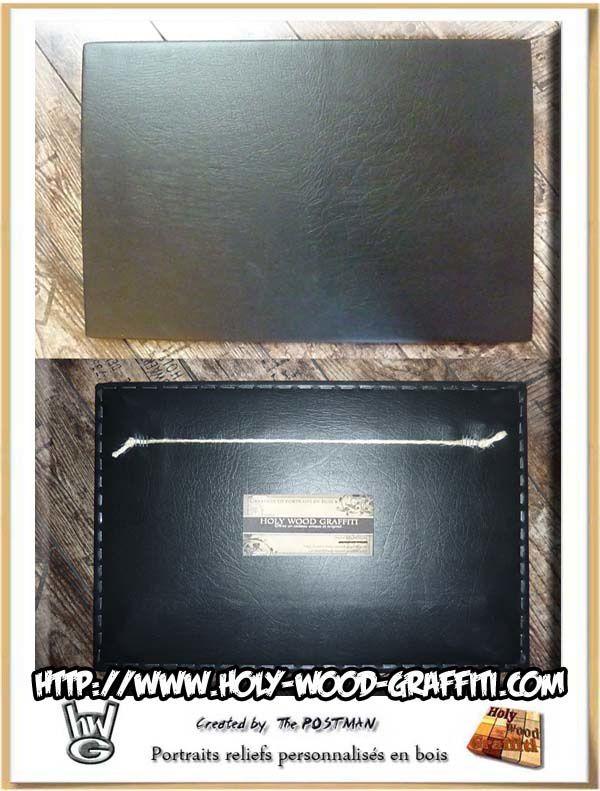 Cadeau en cuir - choisissez ce que vous allez mettre sur ce fond de tableau  :)