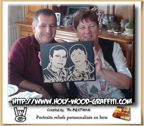 Franck et Laurent ont réussi leur cadeau, leurs parents étaient sous le charme de celui-ci :)