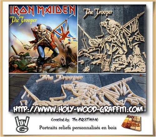 Fan art du groupe Iron Maiden