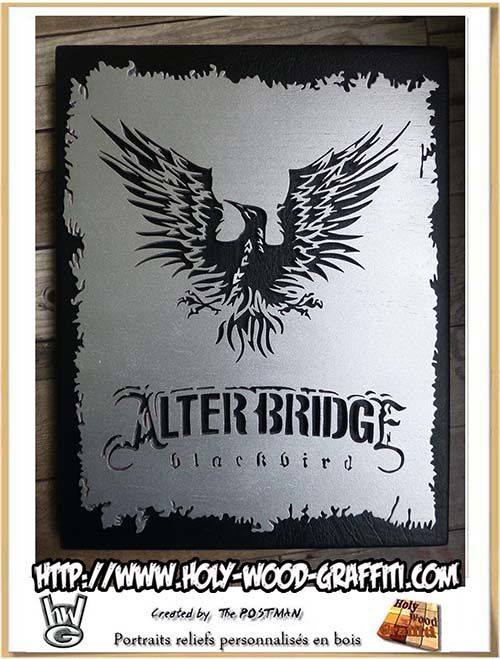 Fan art d'Alter Bridge - objet collector