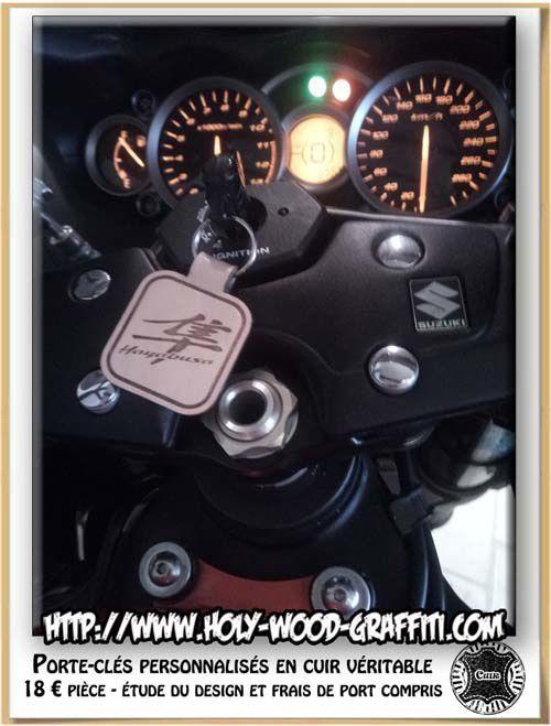 Le porte-clés a trouvé bonne place sur la 1340 GSX-R