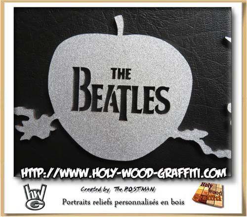 Logo d'Apple Corps, entreprise fondée en janvier 1968 par les Beatles
