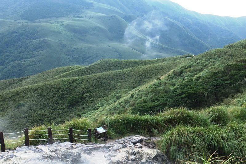 CRATERE DE XIAOYOUKENG 小油坑