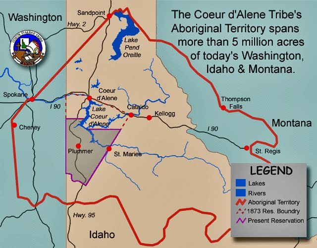 territoire des Coeur d'alene - By gis.cdatribe-nsn.gov - gis.cdatribe-nsn.gov, Public Domain, https://commons.wikimedia.org/w/index.php?curid=25490421
