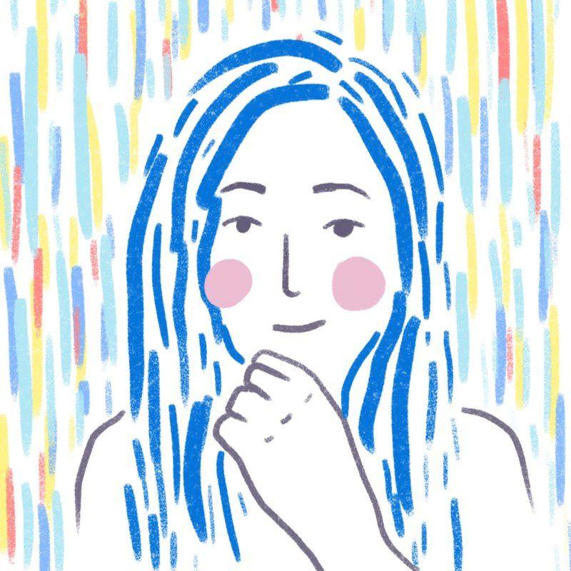 7. Siona Hernández García 17 años Ilustración: Sheyda Sabetian-Guatemala