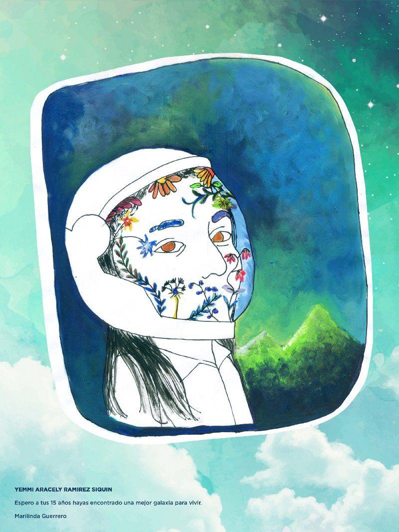 5. Yemmi Aracely Ramírez Siquín 15 años Ilustración: Marilinda Guerrero-Guatemala