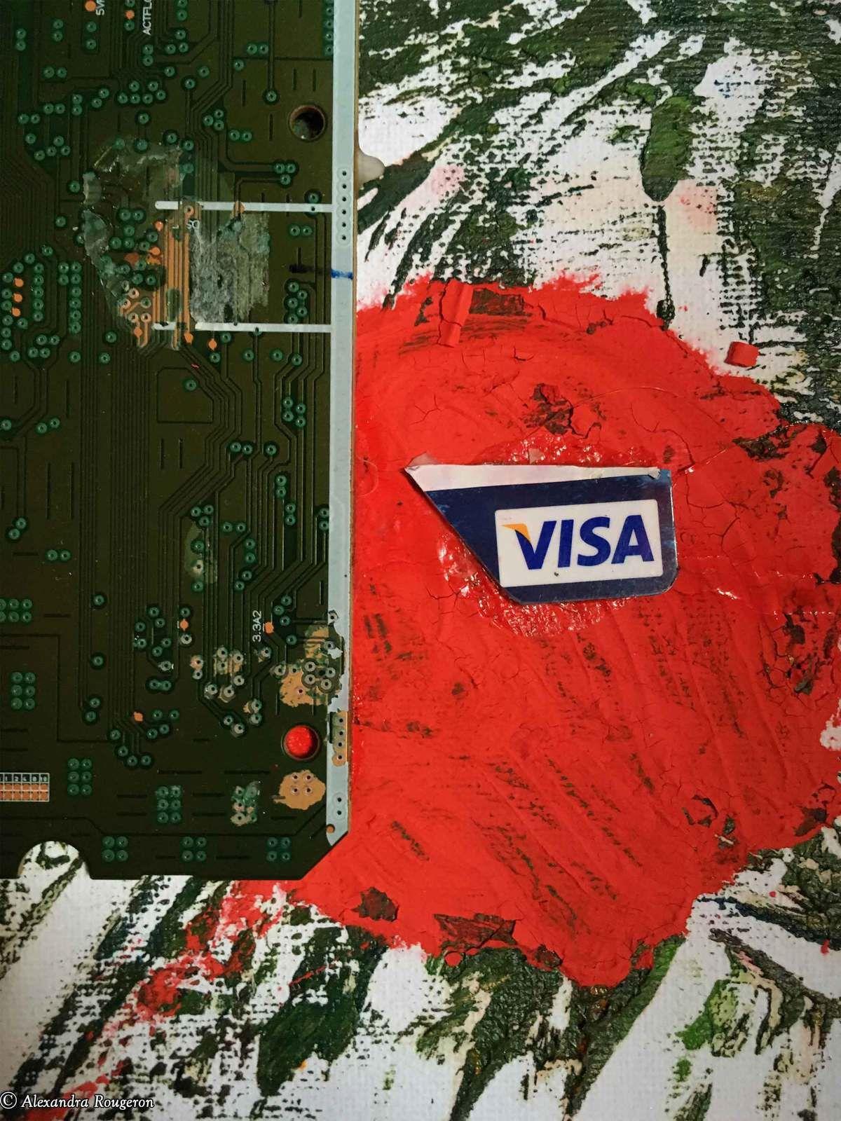 Avec la carte Visa