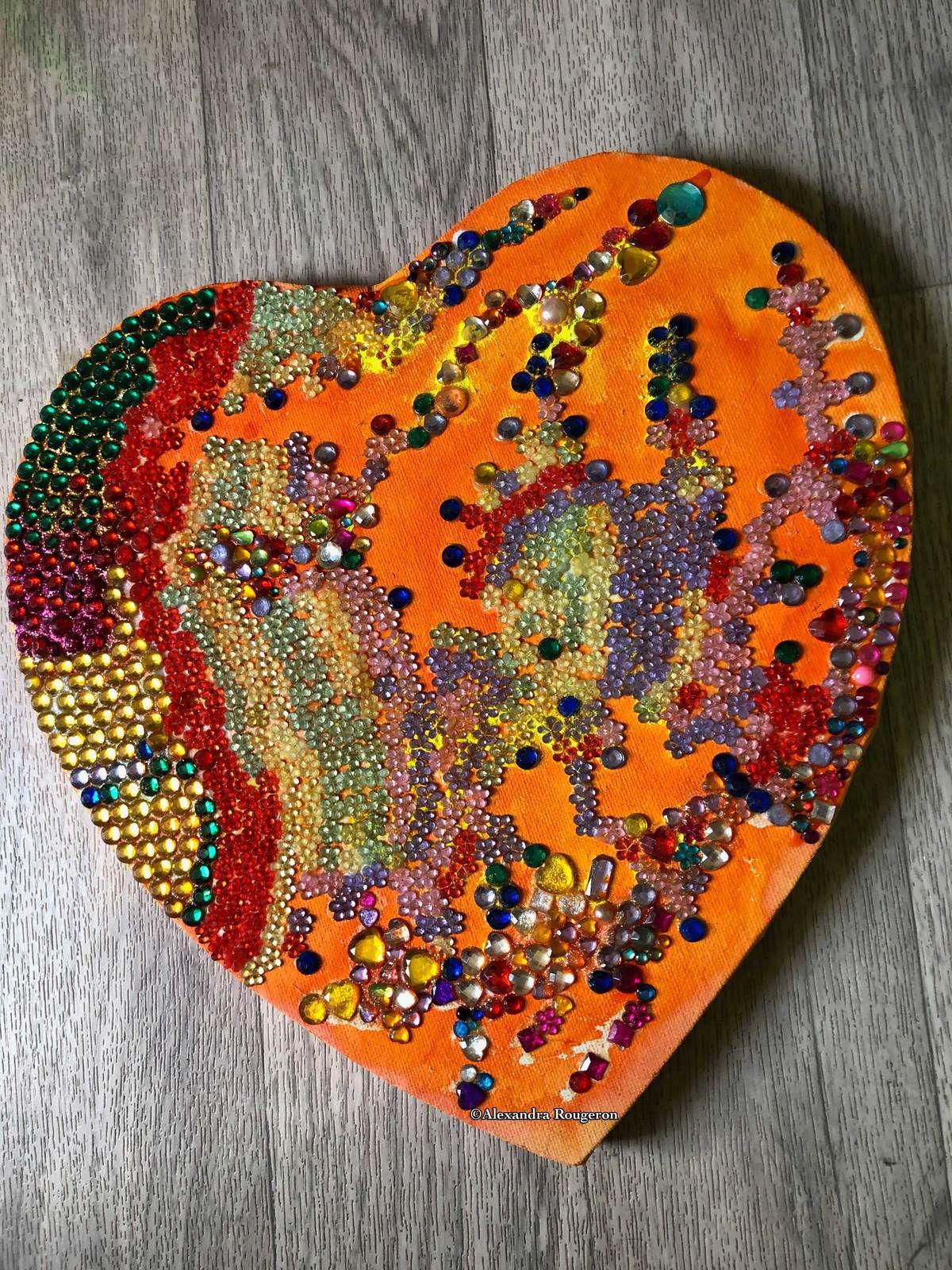 Cœur de pierres...précieuses