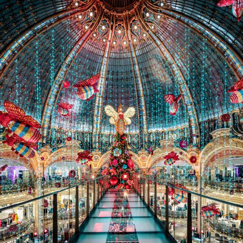Magie de Noël : la vidéo La Ruche de Noël des Galeries Lafayette