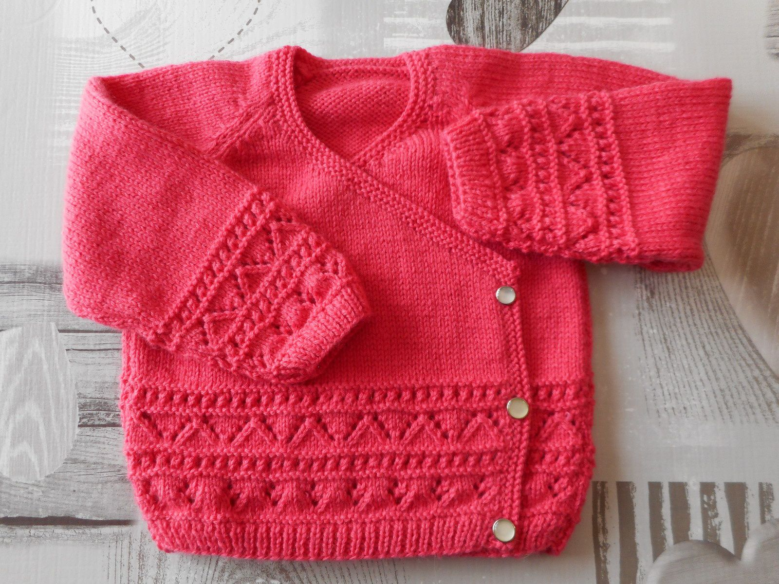 tricot bebe fille