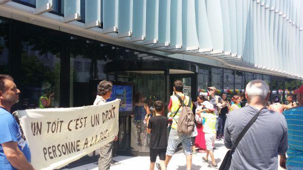 A Angers, par sa demande d'expulsion, le conseil départemental met à la rue des familles entières dès mardi prochain