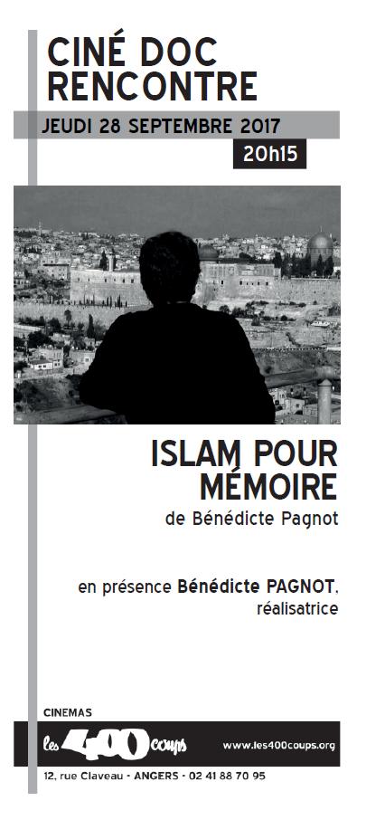 LA LDH SOUTIENT LE FILM DOCUMENTAIRE « ISLAM POUR MÉMOIRE », DE BÉNÉDICTE PAGNOT