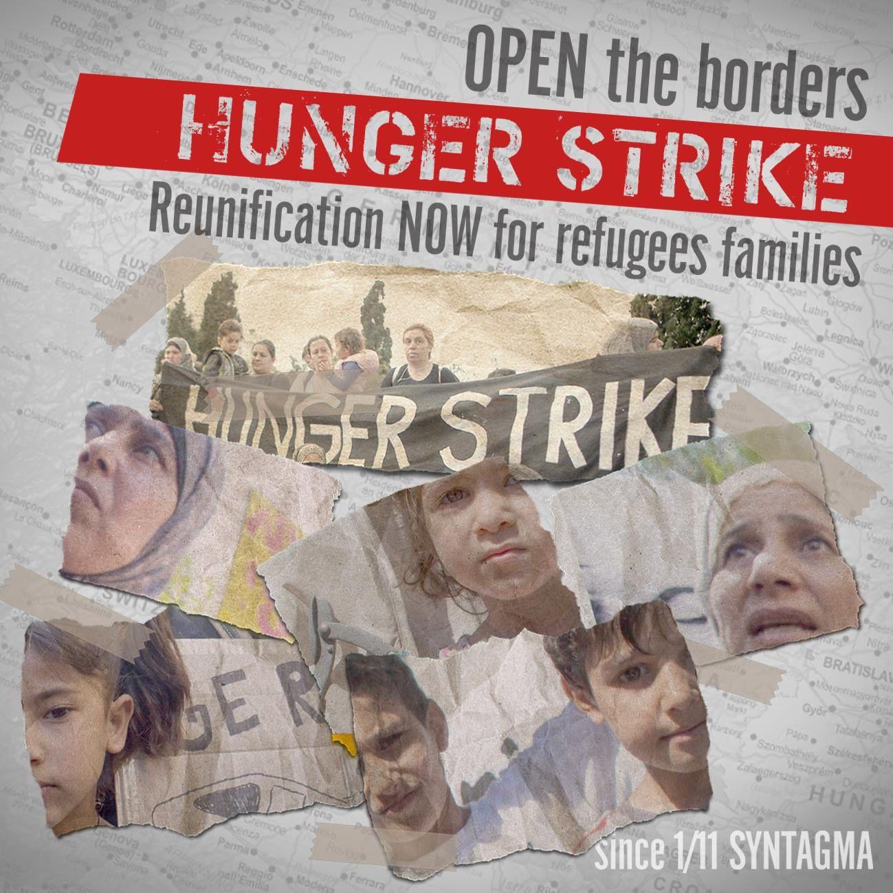 Athènes: des exilé-e-s en grève de la faim