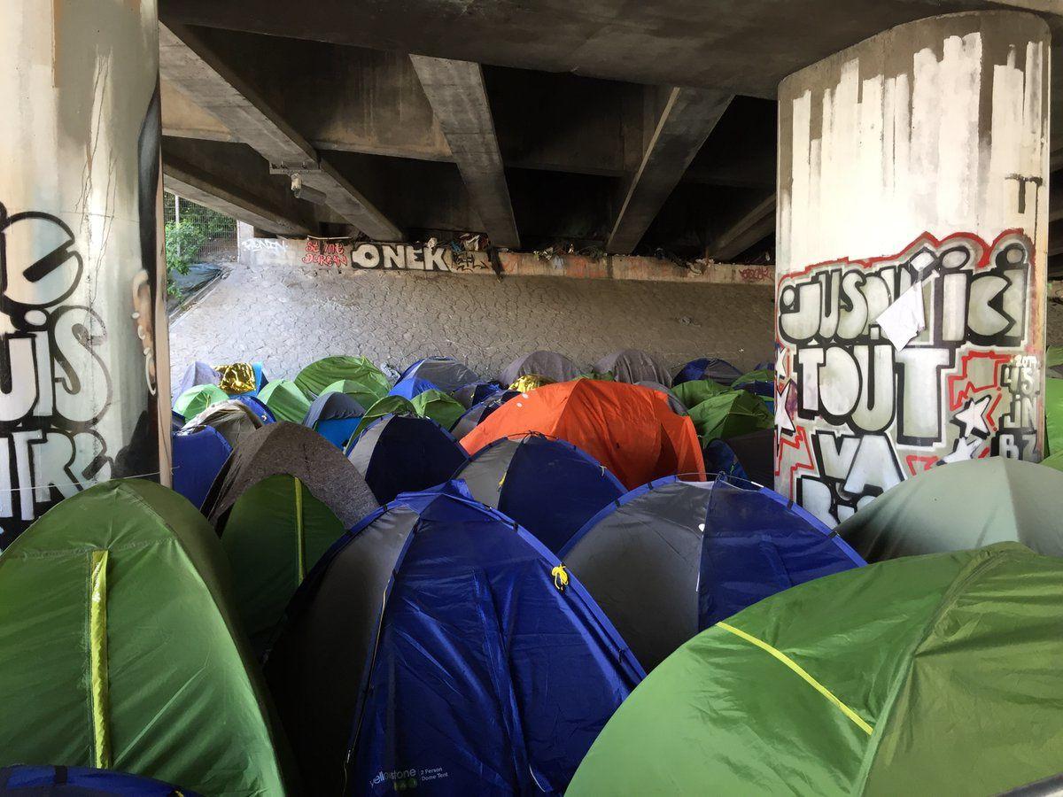 Campements parisiens : nous demandons l'hébergement en urgence des personnes réfugiées