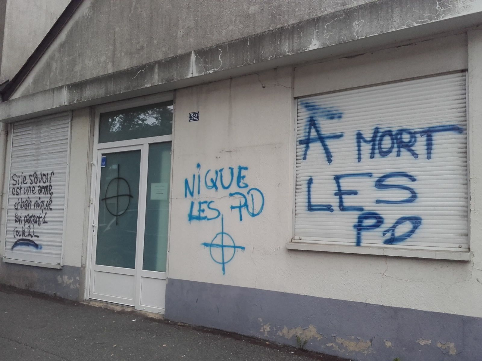 Tags homophobes - Angers