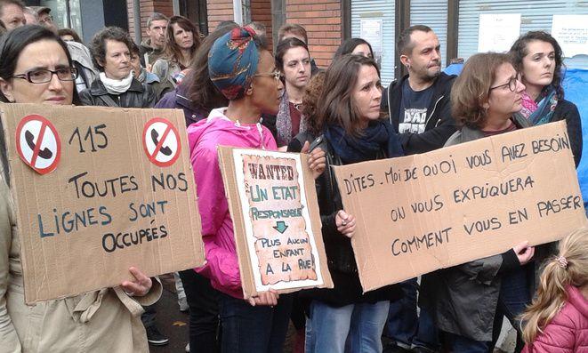 115 en grève à Toulouse © C.Puech