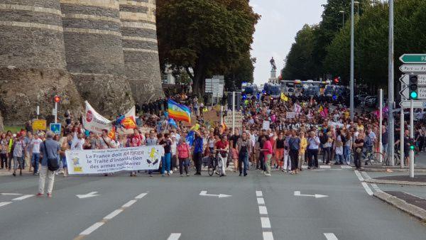 A Angers vendredi et samedi : deux manifestations de 1100 personnes, convergences ?
