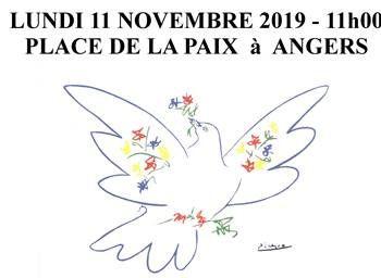 11 novembre - pour dénoncer la barbarie de toutes les guerres