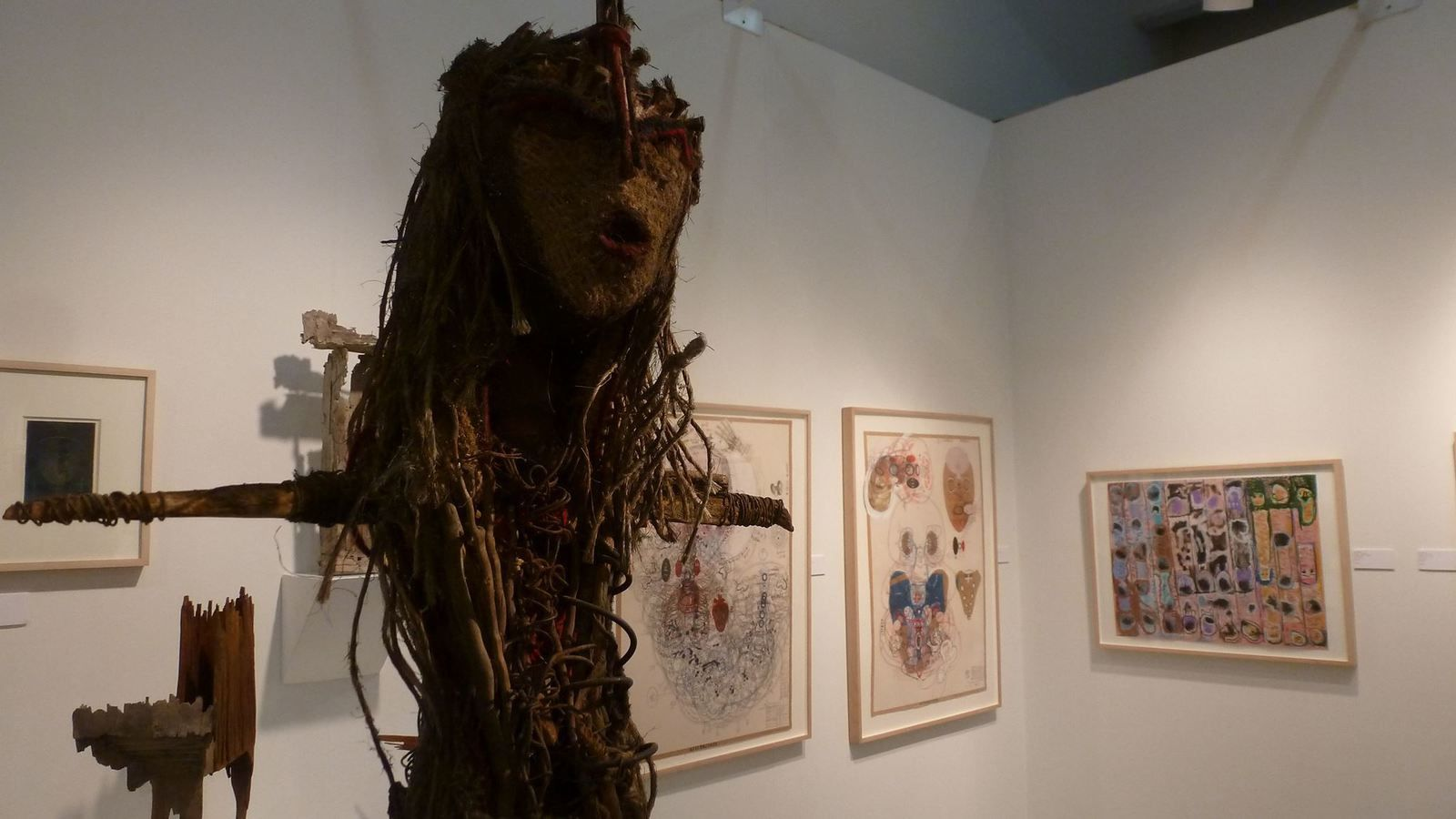 Outsider Art Fair New-York, stand Cavin-Morris Gallery, 2014