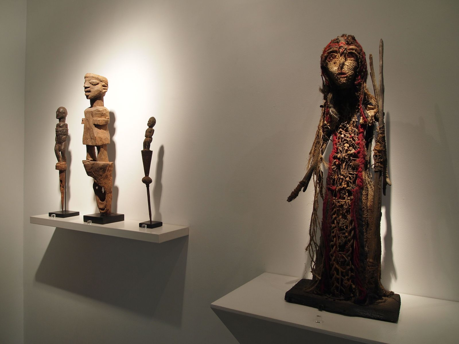 Cavin-Morris Gallery New-York, exposition personnelle Forest Amuletum, 2015