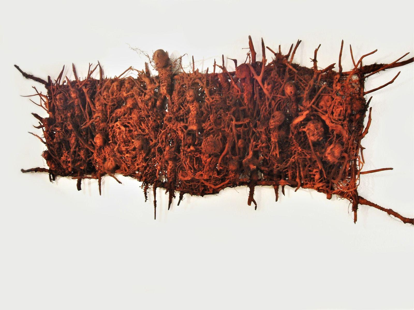 Les tourmentés - 400 x 150 cm - 2008