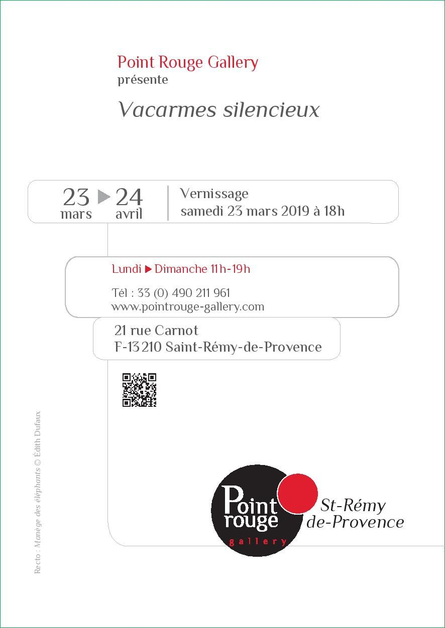 Vacarmes Silencieux / Point Rouge Gallery