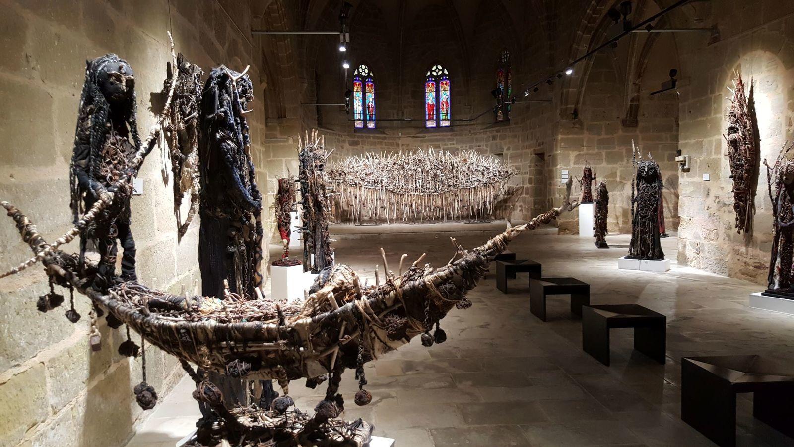 Exposition à la Chapelle Saint Libéral, Brive-la-Gaillarde, octobre 2019 à janvier 2020 - Photographies© Ghyslaine et Sylvain Staëlens