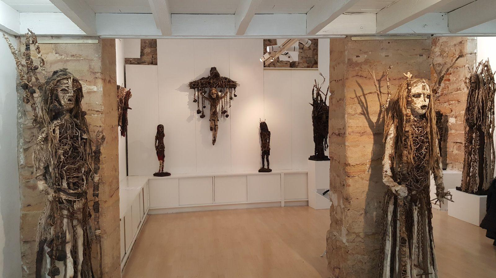 Exposition à la Galerie Licence IV, Lyon  © Ghyslaine et Sylvain Staëlens