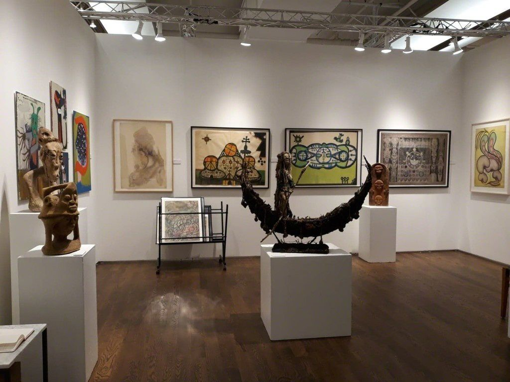 Outsider Art Fair New-York, stand Cavin-Morris Gallery, 2019